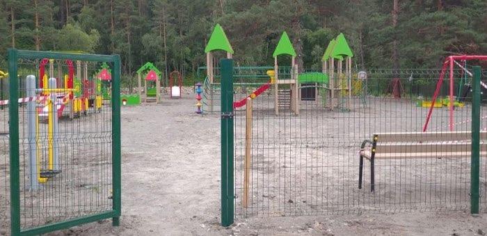 В Элекмонаре благоустроили детскую игровую площадку