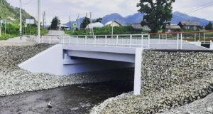 Завершена реконструкция моста через Анос