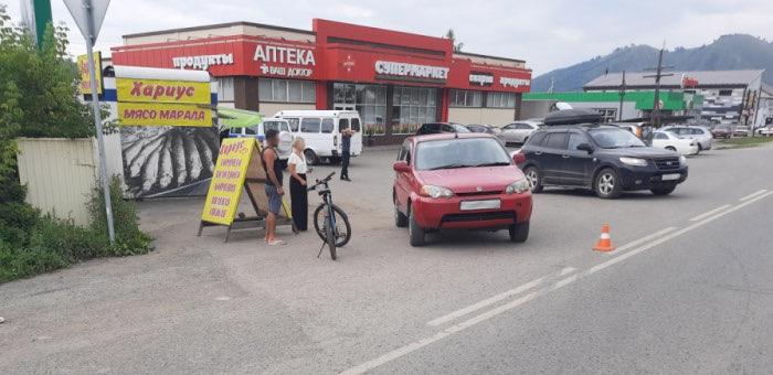 Велосипедистка из Томска попала под колеса автомобиля в Соузге