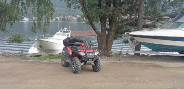 Нетрезвый кемеровчанин перевернулся на квадроцикле в Артыбаше