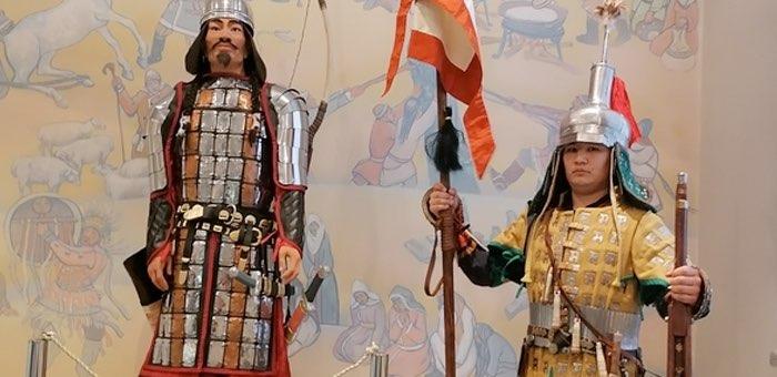 Выставка реконструированных доспехов древних воинов открывается в Национальном музее
