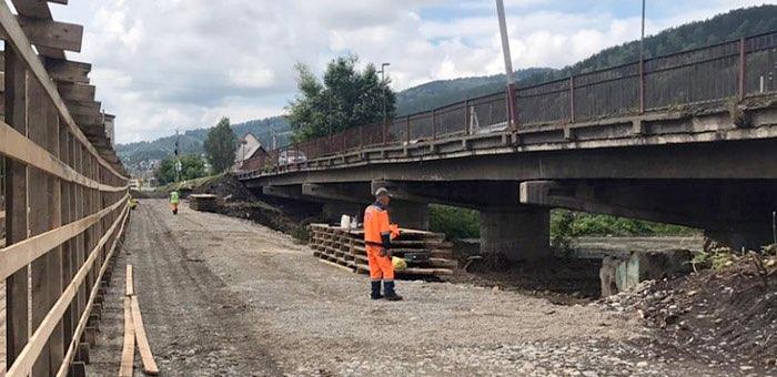 В Горно-Алтайске продолжается ремонт двух мостов