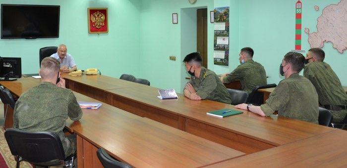 Курсанты пограничных институтов проходят практику в Республике Алтай