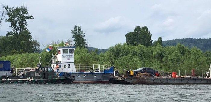 Полицейские задержали людей, допустивших загрязнение реки Бии