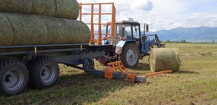 Хозяйства Республики Алтай приступили к заготовке кормов