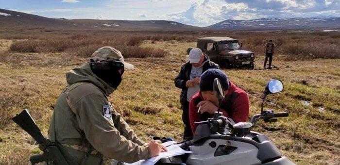 В Алтайском заповеднике задержали тувинских браконьеров, ловивших хариуса