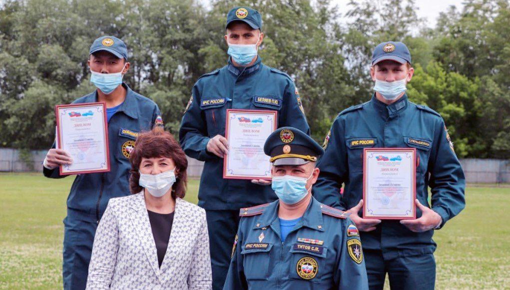 В Республике Алтай выбрали лучшего пожарного