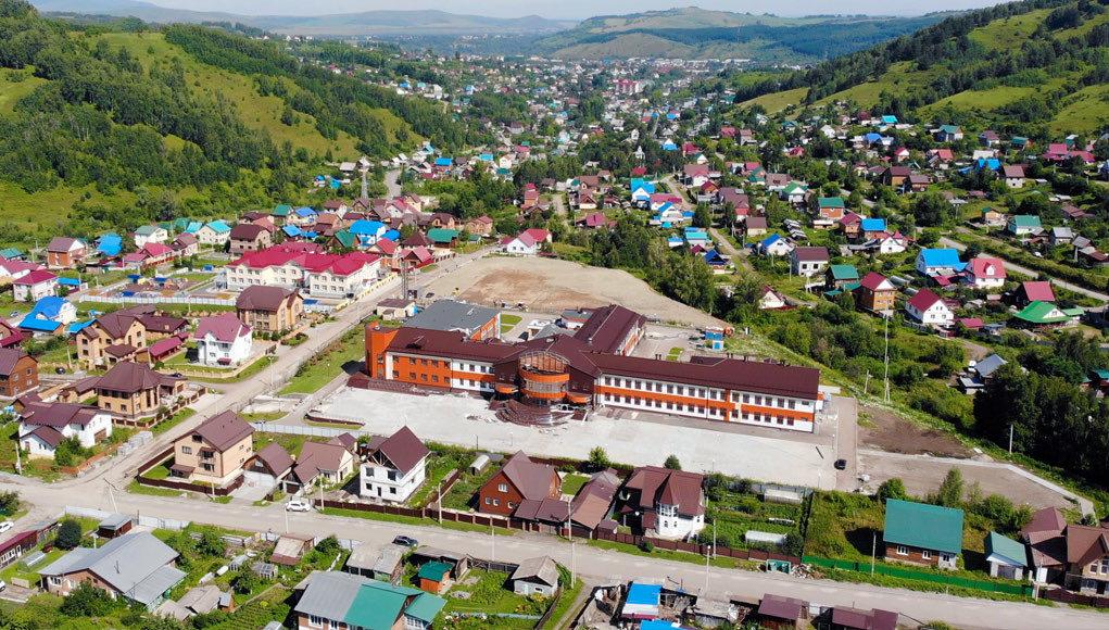 Завершается строительство школы в микрорайоне Заимка