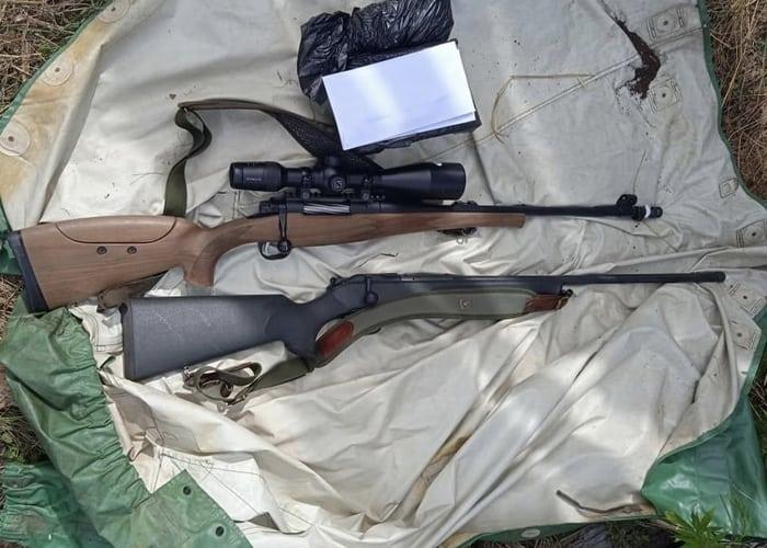 Браконьеры застрелили козерога в Сайлюгемском национальном парке