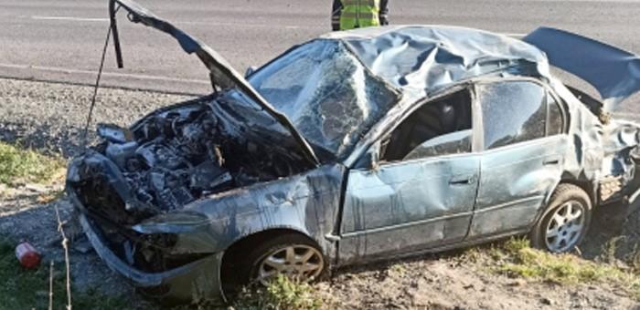 Автомобиль с туристами перевернулся на Чемальском тракте