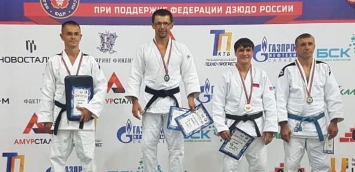 Спортсмен с Алтая стал призером чемпионата страны по дзюдо среди ветеранов