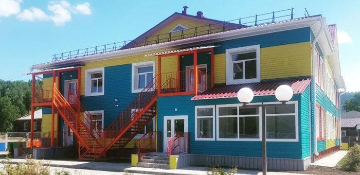В Бийке построили детский сад
