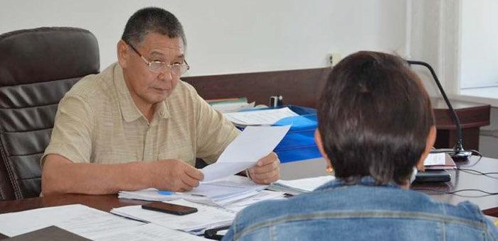 Глава Онгудайского района провел очередной прием граждан