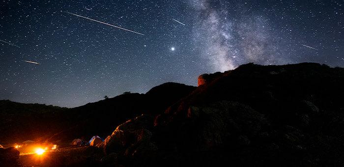 В ночь на пятницу в небе ожидается поток метеоров