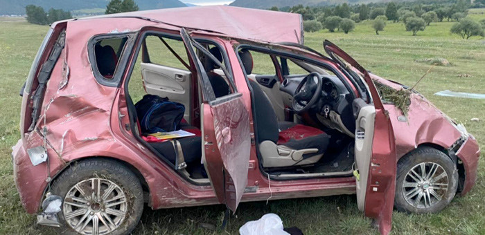14-летняя жительница Усть-Кана погибла в ДТП