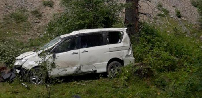 Четыре человека попали в больницу после ДТП на Чуйском тракте