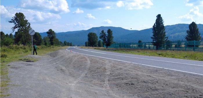 На Семинском перевале попал в аварию байкер из Новосибирска