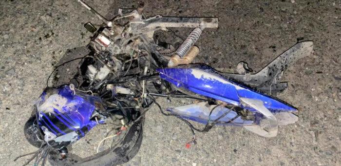 25-летний житель Ортолыка ночью на мотоцикле выехал на встречку и погиб