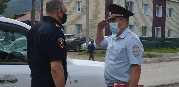 Отделение МВД по Онгудайскому району возглавил Сергей Соболев