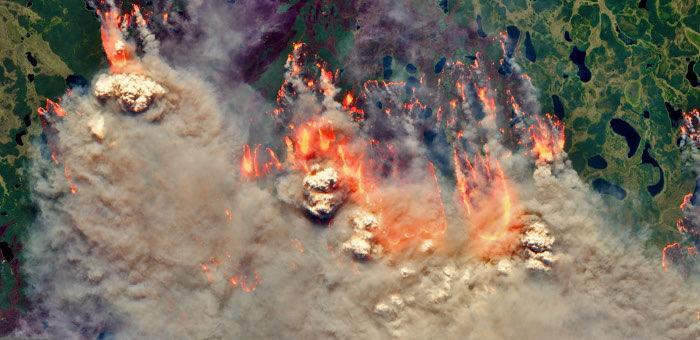 Дым от якутских пожаров добрался до Горного Алтая