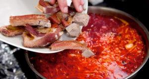 В «борщевом наборе» не обойтись без мяса
