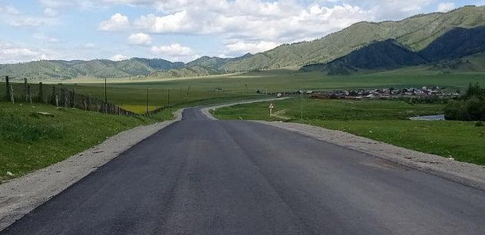 Более 41 километра дороги Ябоган – Туекта отремонтируют в этом году