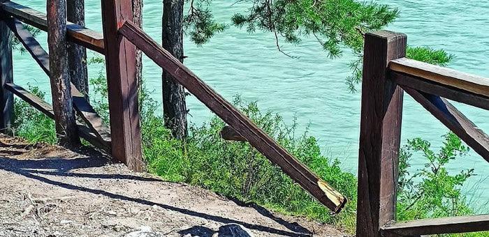 Житель Горно-Алтайска спас девушку, падавшую в Катунь