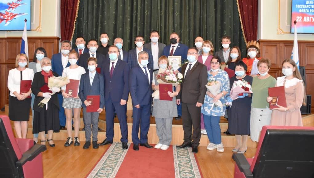 Жители Республики Алтай получили государственные награды