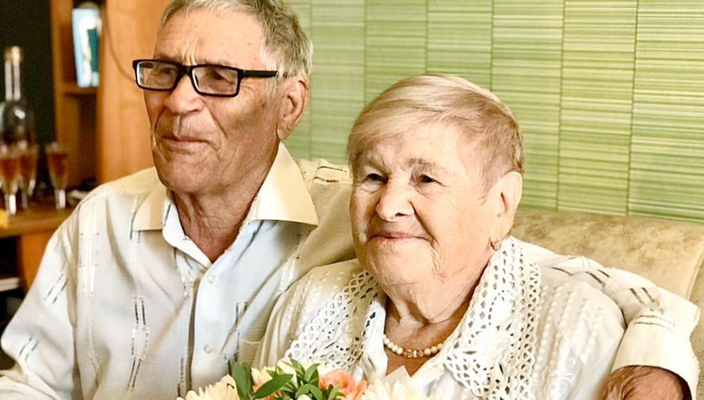Супруги Пироговы из Горно-Алтайска отпраздновали бриллиантовую свадьбу
