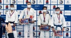 Айвар Ямончеряев завоевал путевку на чемпионат России по дзюдо