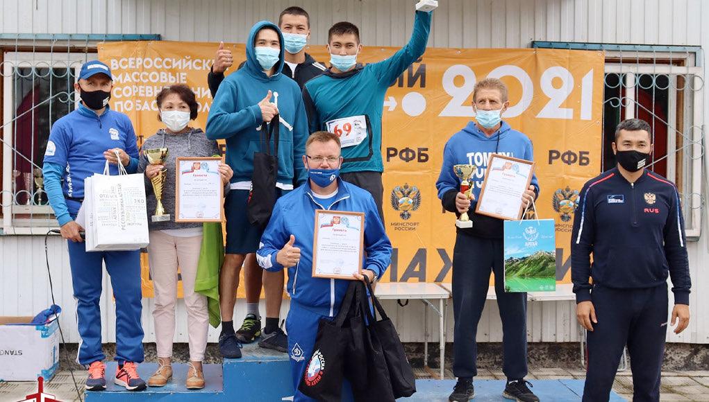 Сборная «Динамо» стала победителем суточного легкоатлетического забега