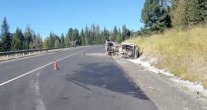 На Семинском перевале погиб в ДТП водитель Toyota Hiace