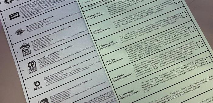 Активней всего голосуют в Горно-Алтайске, Кош-Агачском и Чойском районах