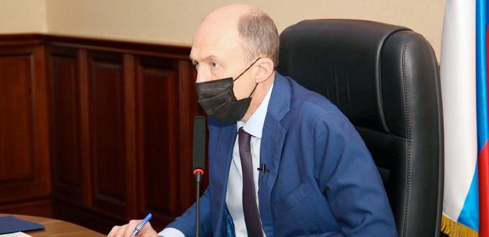 Олег Хорохордин поблагодарил жителей региона, принявших участие в выборах депутатов Госдумы