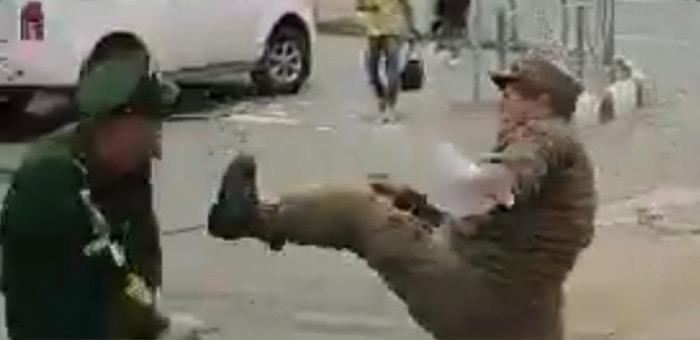 Контрактник из Республики Алтай избил представителей военной полиции в Южно-Сахалинске