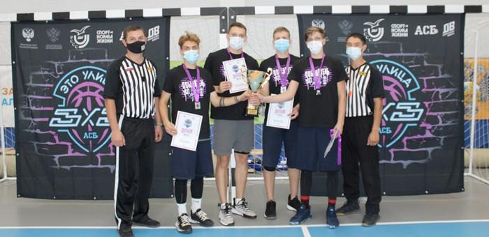 В Горно-Алтайске прошли соревнования по баскетболу среди студентов