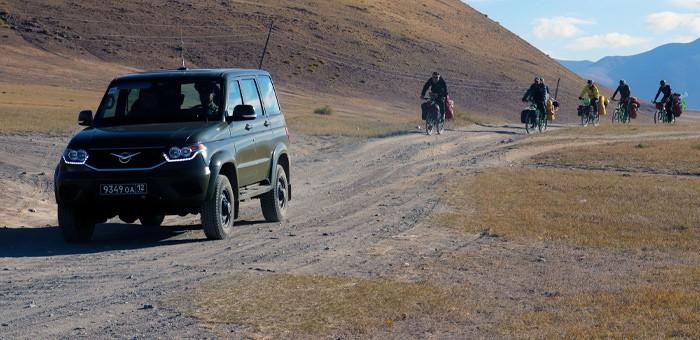 В Республику Алтай прибыла экспедиция «РоссиЯ-2021»
