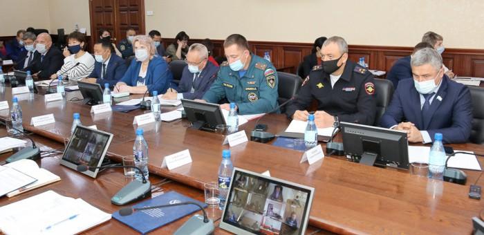 В Республике Алтай проходят командно-штабные учения