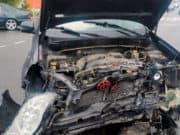 На перекрестке в Майме жестко столкнулись автомобили