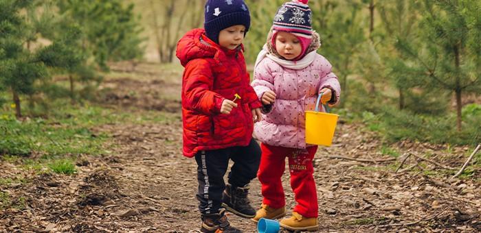 Дети из ясельной группы остались без присмотра и ушли гулять сами по себе