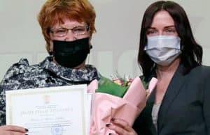 Работники дошкольных учреждений получили награды