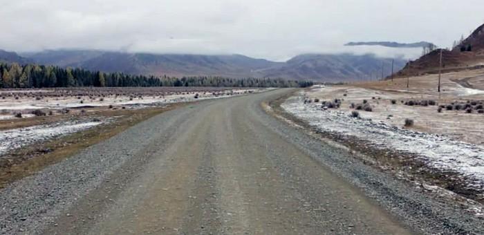 Отремонтирована дорога Ело — Каярлык