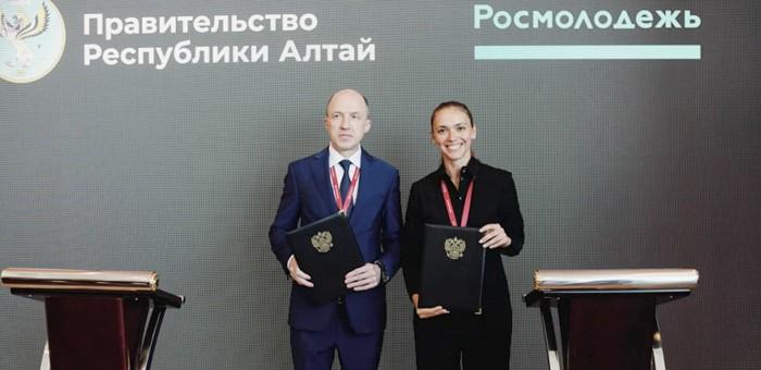 Олег Хорохордин и глава Росмолодежи подписали соглашение о взаимодействии