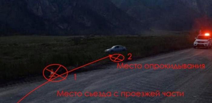 Нетрезвый турист из Новосибирска устроил ДТП в Чемальском районе