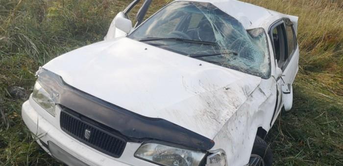 Нетрезвый горожанин отправил под откос свою Toyota Sprinter