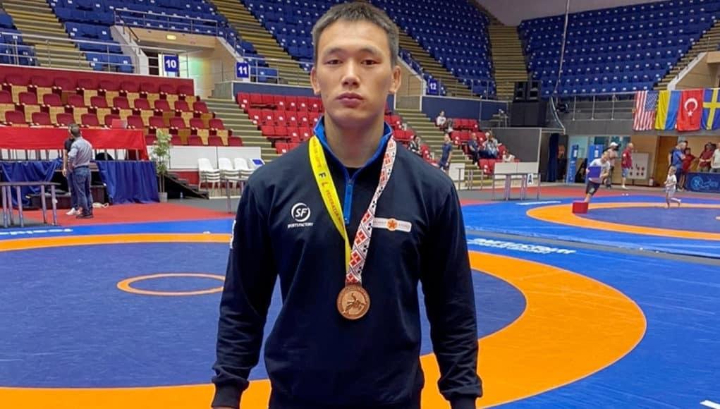 Юрий Тапаа стал призером международного турнира по греко-римской борьбе