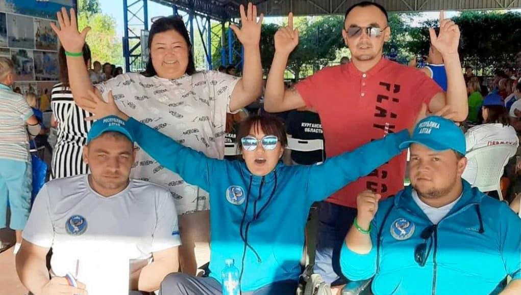 Спортсмены из Республики Алтай стали призерами фестиваля «Пара-Крым»