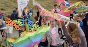 В Горно-Алтайске впервые прошел фестиваль воздушных змеев