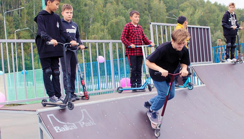 Скейт-парк появился в Горно-Алтайске