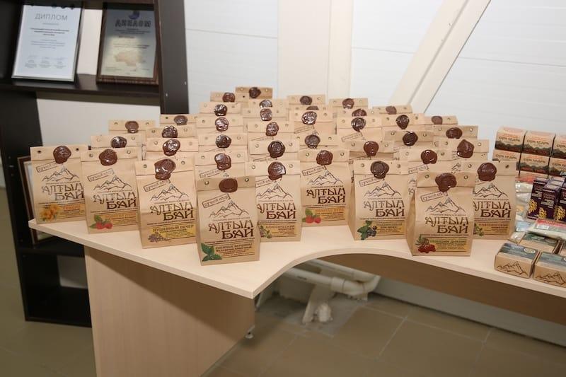 Комплекс по производству чая из трав открылся в Верх-Бийске